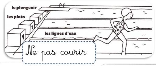 Les r gles de la piscine ecole paul bert for Regle de securite piscine