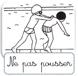 Les R Gles De La Piscine Ecole Paul Bert