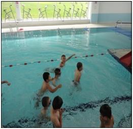 Les cp ont commenc la piscine ecole paul bert for Piscine outreau